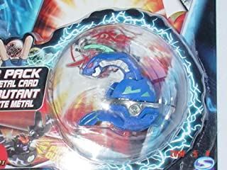 Bakugan Evolved Aquos BLUE DELTA DRAGONOID II - Chrome Ring - New Sealed Booster Pack