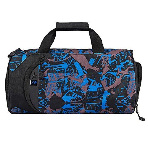 WOMJIA WOMJIA 600D Nylon langlebig Reisetsache Sporttasche Weekender Tasche Handgepäck aus stilvoll 35 Liter