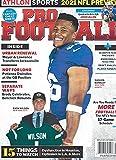 Athlon Sports Magazine September 2021 Pro Football NFL New York Giants New York Jets