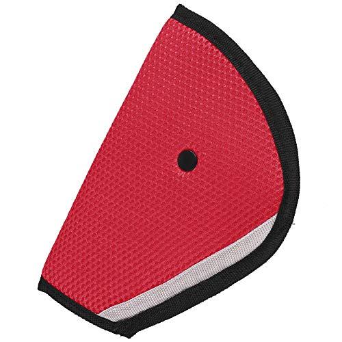 Ahomi Kids Auto Safe Fit Sicherheitsgurt Teller Baby Dreieck Sicherheitsvorrichtung (Weinrot)