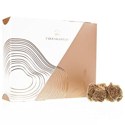 Xmas ChocoTruffles Spiced Cookie - Schokoladentrüffel mit Spekulatius-Mantel, Geschenk zu Weihnachten, Trüffelpralinen Geschenk, alkoholfreie Pralinen, Weihnachtspralinen