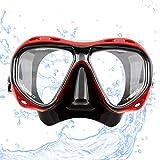 """Sportastisch Taucherbrille """"Redfish"""" mit weichen Doppeldichtungen & verstellbarem..."""