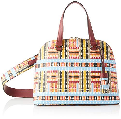 TOUS Damen Alicya Bowling-Tasche, Mehrfarbig (Multicolor 995810311), 30.5x23.5x13.5 centimeters