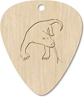 7 x 'Komodo Dragon' Guitar Picks / Pendants (GP00018926)