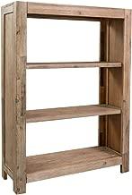 homcom Libreria Porta TV Versatile di 2 Moduli a L Neri MDF Grado E1 120-165L cm x 35P cm x 50A cm Nero
