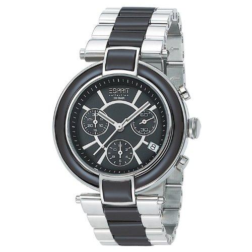 Esprit Damen-Armbanduhr PHYSIS Analog Quarz Verschiedene Materialien EL101582F01