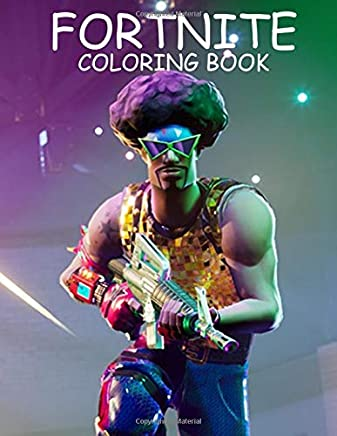 fortnite coloring book 40 unofficial fortnite coloring book with characters weapons and different skins - fortnite manga