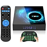 Android 10.0 TV Box,T95 Android TV Box 4GB RAM 64GB ROM with Allwinner