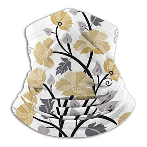 Pañuelo de flores amarillas Versatilidad Bandana Diadema Diadema Headwear
