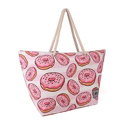 Oh My Pop! Yummy-Sunny Strandtasche Bolsa de Tela y de Playa 60 Centimeters  Multicolor (Multicolour)