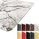 Marble Kitchen Mat Anti Fatigue Standing Mat Waterproof Nonslip Cushioned Rugs for Office Computer...