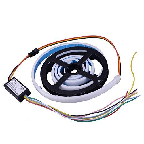 CITALL 7 couleur LED RVB feu arrière signal signal de frein ligne coffre tronc porte JHRUN-B03CC