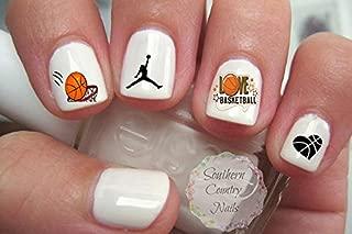 Basketball Design #103 Nail Art Decals
