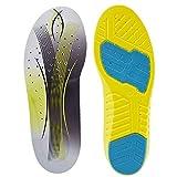 SOFIT Plantillas Gel Memory Foam Sport Plantillas, Amortiguadoras y Tanspirabilidad Antibacteriana y Flexibles, Absorción de Impactos, Zapatos Unisex para Fascitis Plantar (L EU (42-44))