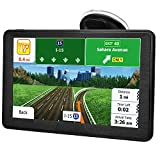 GPS Navigation for Car,Latest 2020 Map ,7 inch Touch Screen Real Voice Spoken Turn-by-Turn Direction Reminding Navigation System for Cars, Vehicle GPS Satellite Navigator with Free Lifetime Map Update