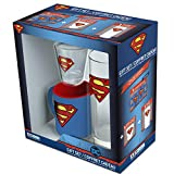 ABYstyle - DC Comics - Pack Verre 29cl + Shooter + Mini Mug Superman