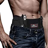 Vemingo Upgraded Conceal Carry Holster Breathable Neoprene Belly Band Holster for Concealed Carry, Glock 19, 17, 42, 43, P238, Ruger LCP, Pistols Waistband Holster for Women and Men