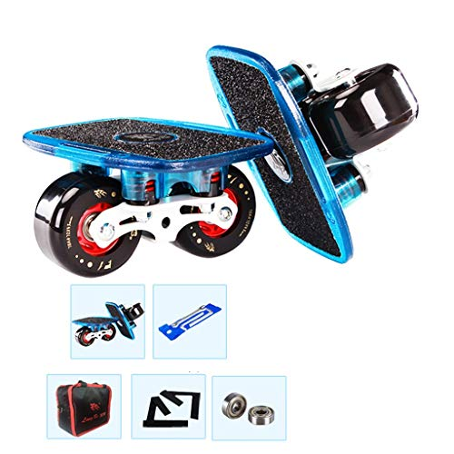 Best Buy! LLQQ Drift Skates Freeline Skates - with 608 Bearings and 7243mm PU Wheels PC Plate for Ou...