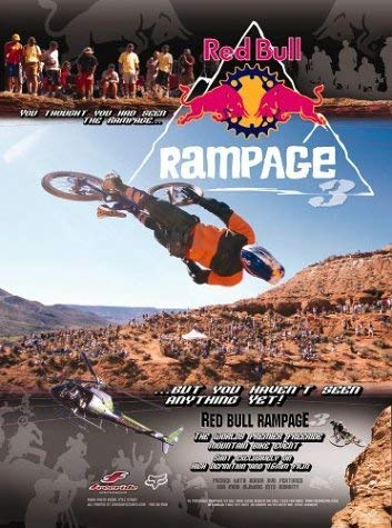 Red Bull Rampage 3 ( Extreme Mountain Bikes)