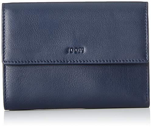 Joop! Damen Seria Cosma Purse H10f Geldbörse, Blau (Blau (Dark Blue), 1.0x10.0x14.0 cm