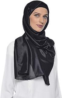 وشاح حجاب شيفون لامع للنساء