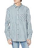 [エーグル] シャツ [公式] キャパロン 長袖シャツ メンズ ZCHK306 ダークブルー 日本サイズM相当