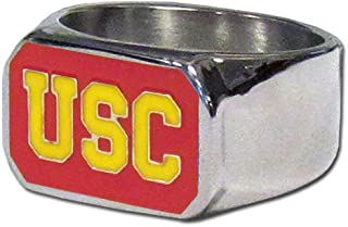 AJZYX NCAA National League Competition Rose Bowl Ring Jewelry Souvenir Gift Size 9-12