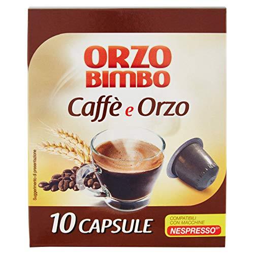 Orzobimbo Capsule Miscela Orzo E Caffé, Compatibili Nespresso ®, 10 Capsule