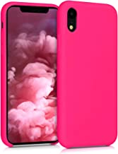 kwmobile Apple iPhone XR Cover - Custodia per Apple iPhone XR in Silicone TPU - Back Case Cellulare Rosa Shocking