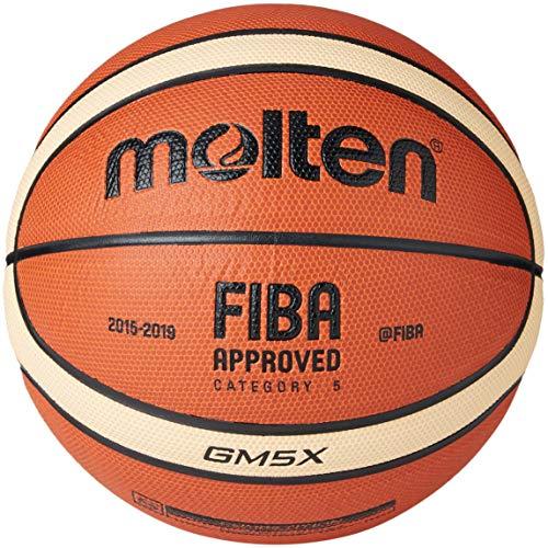 Molten, Basketball, BGGX, Größe 5, in Orange