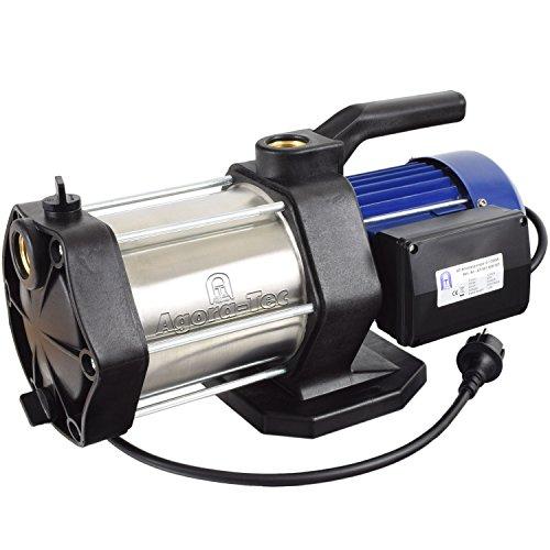 Agora-Tec® AT-Kreiselpumpe-5-1300W, 5 stufige Kreiselpumpe mit max: 5,6 bar und max: 5400l/h