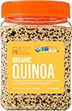 BetterBody Foods Organic Quinoa, Vegan, Complete plant protein, gluten free low, glycemic rice replacement, 24 ounce
