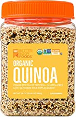 NUTRIENT BLEND: Quinoa may be a small seed, but it is full of nutrients that can help men and women of all ages live a better life. In every serving of our organic powder, you'll find many nutrients, including fiber, protein, and iron, making it a gr...