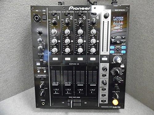 Pioneer djm750bk–djm-750K schwarz-Mixer 4-Kanal