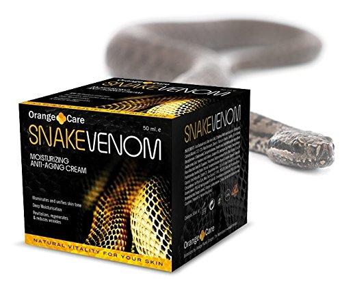 Schlangengift-Creme Snake Venom Anti-Faltencreme Tagescreme mit Schlangengift, gegen Falten, unterstützt Hautstraffung, beugt Hautalterung vor, nicht fettend, ohne Tierversuche