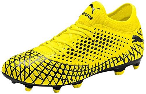 PUMJV|#Puma Future 4.4 Fg/ag Scarpe da calcio Uomo, Giallo (Yellow Alert-Puma Black 03), 43 EU