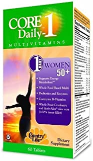 Country Life Vitamins Core Daily 1 Women,50+ 60 Ct 1-Ea