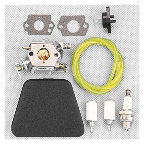For Socio 351 352 370 371 Kit de carburador Motosierra Motor Partes Accesorios Montaje Montaje Suponga Reemplazo