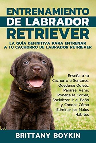 Entrenamiento de Labrador Retriever: La Guía Definitiva para Entrenar a tu Cachorro de Labrador Retriever (Spanish Version) (Version en Espanol)