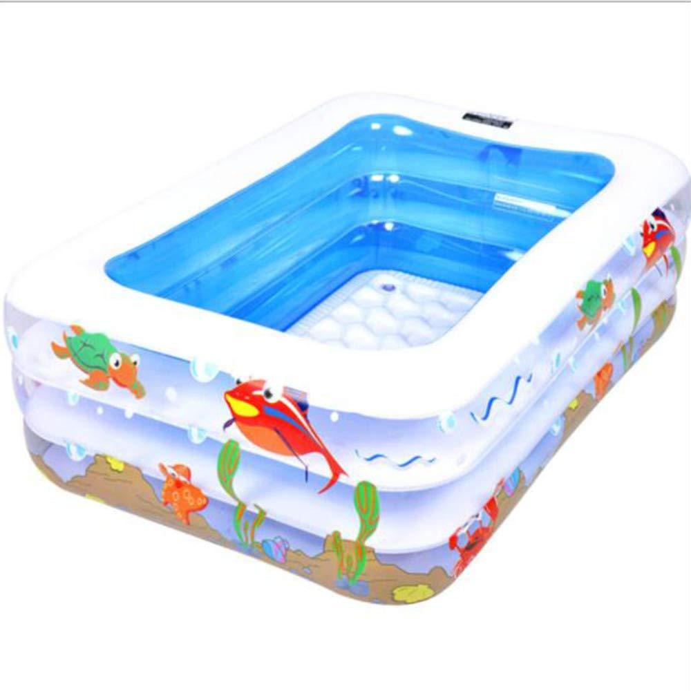 ZHKGANG Piscina para Bebés Casa para Niños Agua Inflable Piscina ...