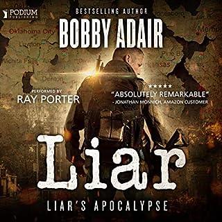 The Liar audiobook cover art