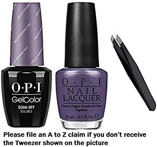 HELLO HAWAII YA Gel & Lacquer +Free $15 value tweezer with your purchase