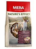 MERA NATURE'S EFFECT, Getreidefreies Hundefutter, Premium Trockenfutter für Hunde mit Ente, Rosmarin, Karotten und Kartoffeln