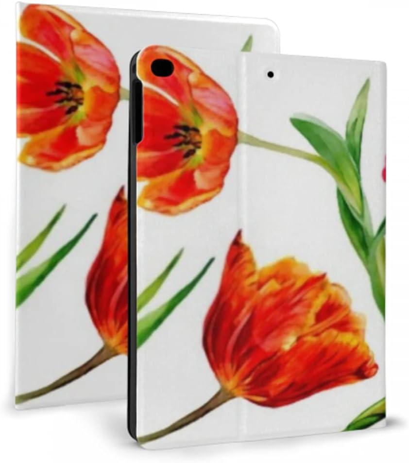 Case for ipad 2017 2018 air Tulip 1 Amazing Regular discount Red Rare Flower 2