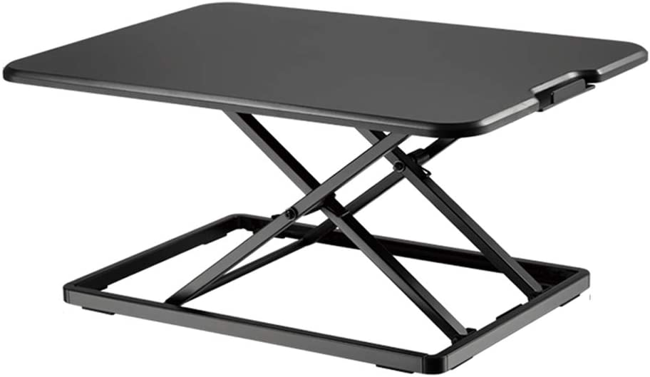 Sgohevn Height Adjustable Sit-Stand Desk Standing Lift Computer New color Bargain