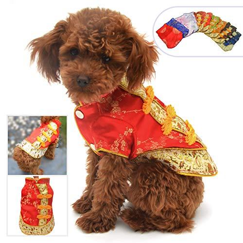 Lovelonglong 2019 Dog Costumes Cheongsam Qipao...