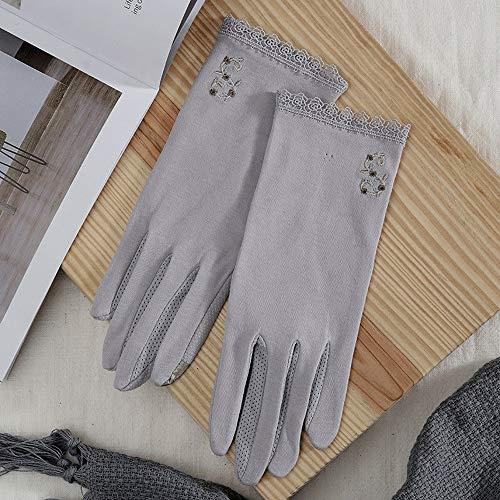 SHNRSTAO Protector solar conducir respirable guantes