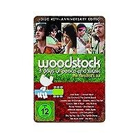 Woodstock Music AND ARTS FAIR Festival Rock 1969A ブリキ看板ヴィンテージ錫のサイン警告注意サインートポスター安全標識警告装飾金属安全サイン面白いの個性情報サイン金属板鉄の絵表示パネル40*30cm