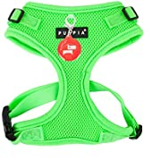 Puppia Authentic Neon Soft Harness II
