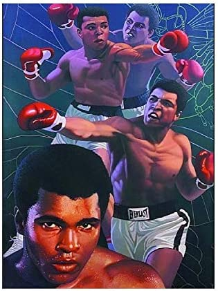 Muhammad Ali Boxing Tin Sign Poster Wall Art Decor Memorabilia Gifts for Guys Girls Bedroom product image
